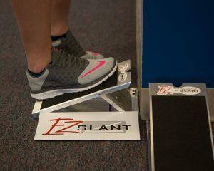 Calf Muscle Stretching Exercise - EZ Slant